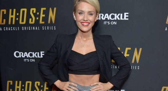 Nicky Whelan looking as stunning as ever