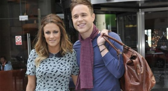Olly Murs with Xtra Factor co-host Caroline Flack