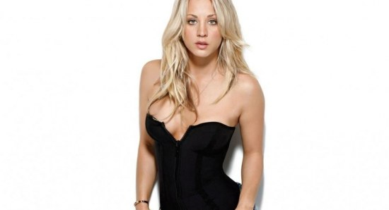Kaley Cuoco is a television star