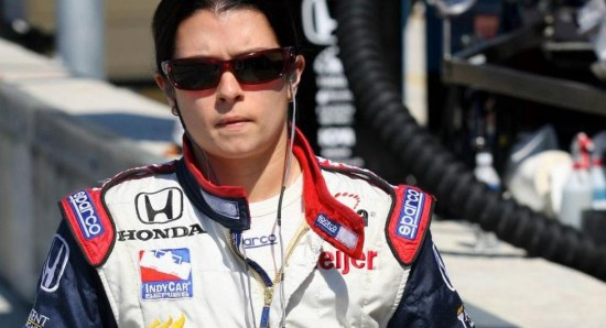 Danica Patrick is a talented driver