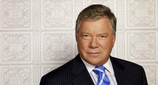 William Shatner looking great in suit