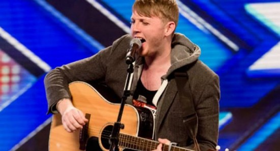 James Arthur in his X Factor audition