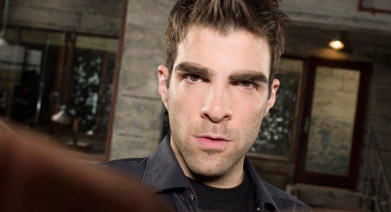 Zachary Quinto played Sylar in Heroes