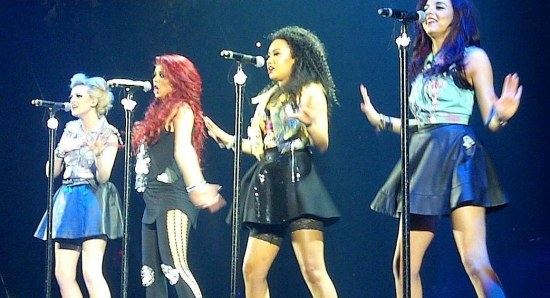 Little Mix live on stage