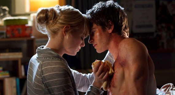 Andrew Garfield and Emma Stone film breakup scenes for Amazing Spider-Man sequel