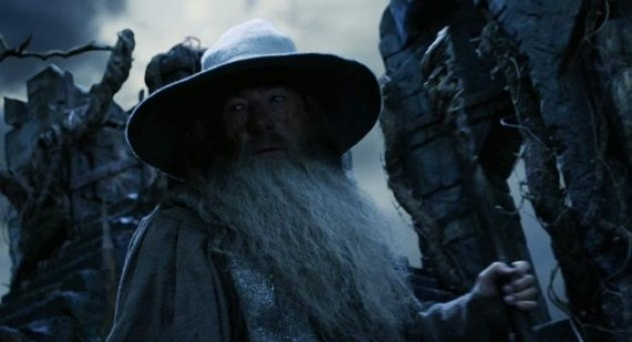 Ian McKellen cried out of frustration during 'The Hobbit'