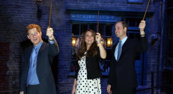 Kate Middleton is a fan of Harry Potter, calls the books 'great'
