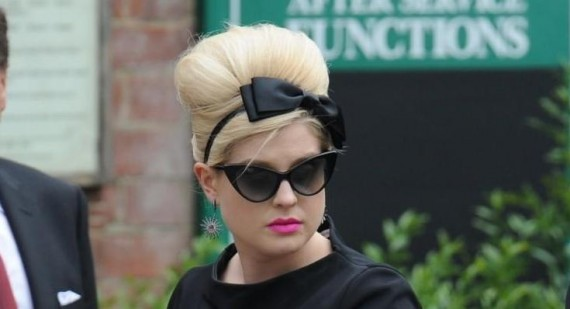 Kelly Osbourne talks about her changing hairstyles