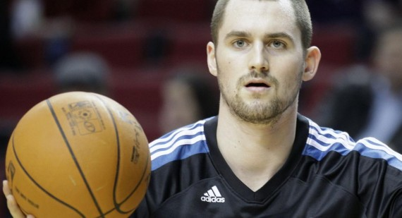 Kevin Love getting along with Flip Saunders