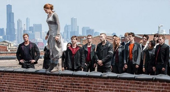 New 'Divergent' image features Shailene Woodley during Dauntless initiation
