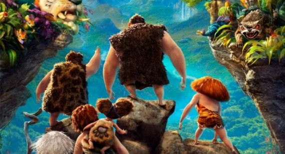 New TV Spot for The Croods, starring Nicholas Cage, Ryan Reynolds and Emma Stone