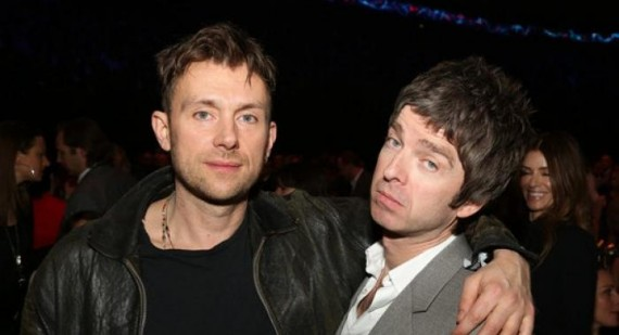 Noel Gallagher and Damon Albarn working on new projects together