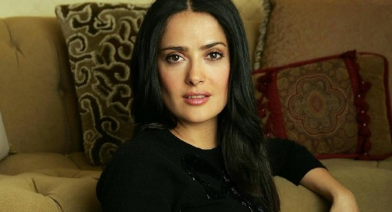 Salma Hayek puts family before career
