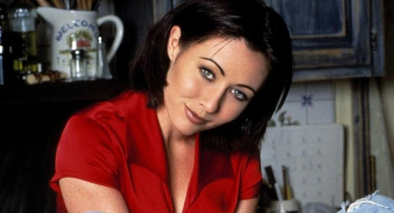 Shannen Doherty promotes online education