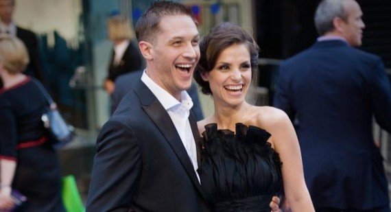 Tom Hardy and Charlotte Riley write love letters to each other