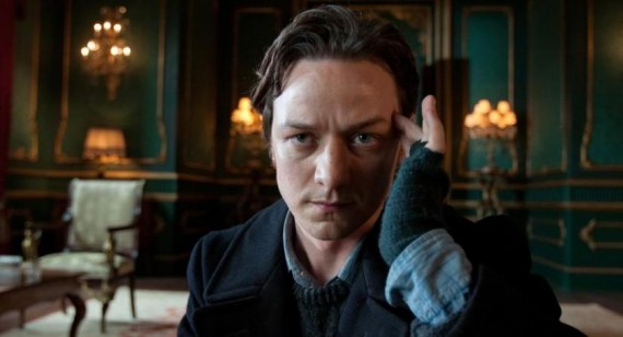James McAvoy praises Jennifer Lawrence and Jessica Chastain