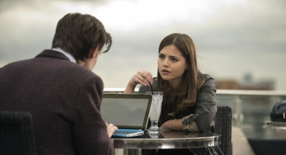 Jenna-Louise Coleman excited for Peter Capaldi to join Doctor Who