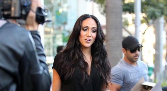 Melissa Gorga hits back at claims her book promotes rape