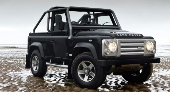 The love between celebrities and Land Rovers