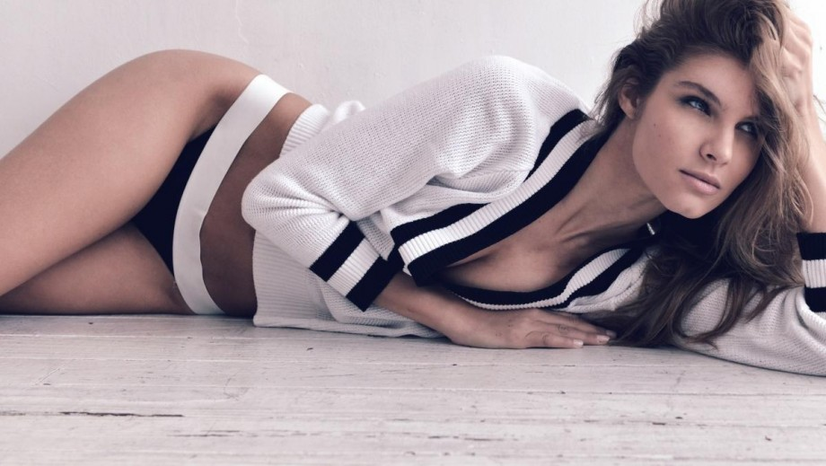 Ashley Sara Haas shows her Sports Illustrated Swimsuit Issue potential