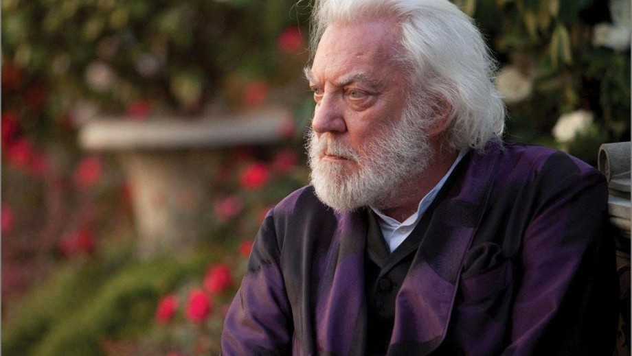 Donald Sutherland as President Snow in new The Hunger ...