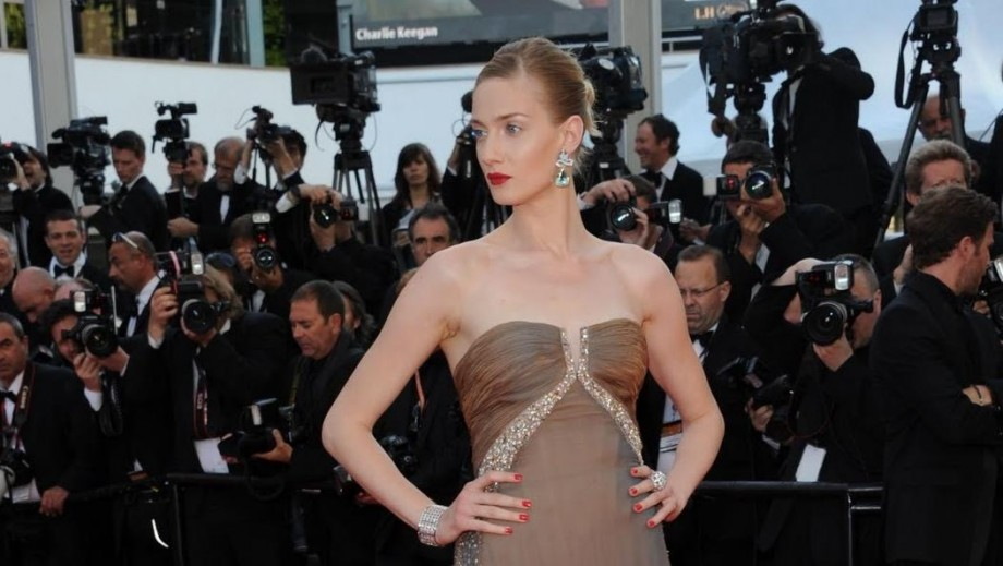 Eva Riccobono becomes a mother for first time in London