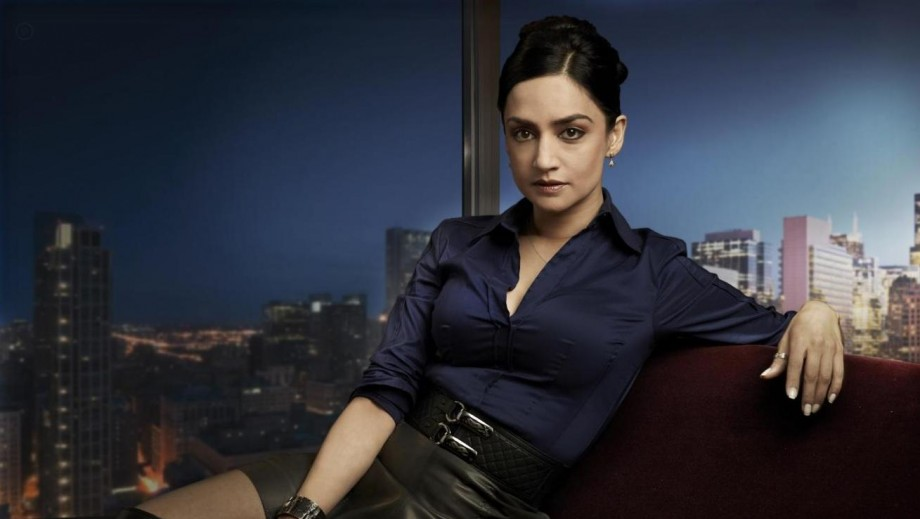 "For Archie Panjabi a 'kiss' told her it was time to leave ""Good Wife"""