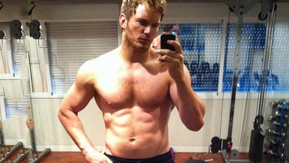 Hollywood hunk Chris Pratt's body for Guardians of the Galaxy is beginning to fade