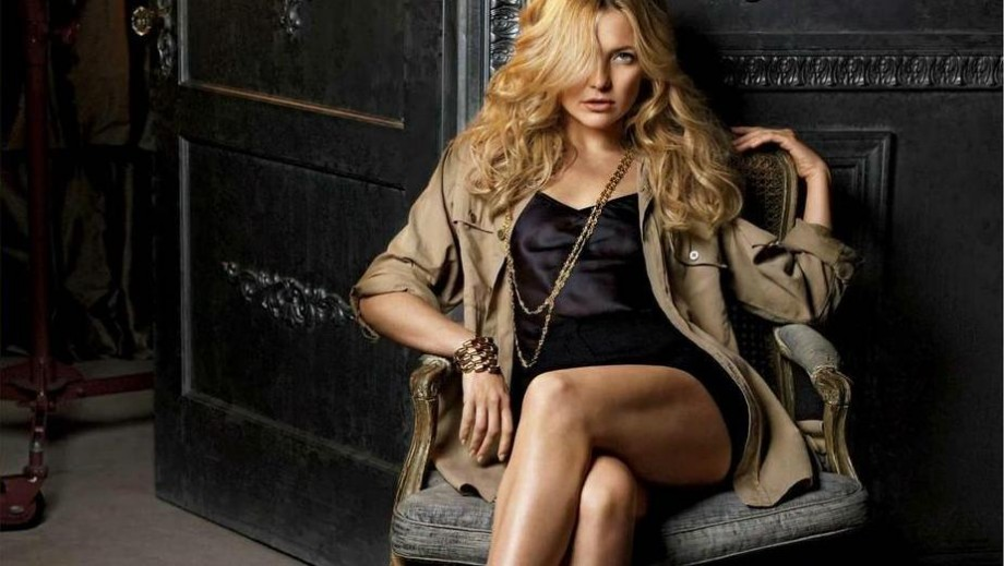 Kate Hudson's body comes with hard work