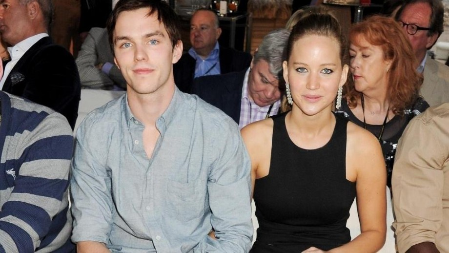 Nicholas Hoult manages to keep Jennifer Lawrence grounded