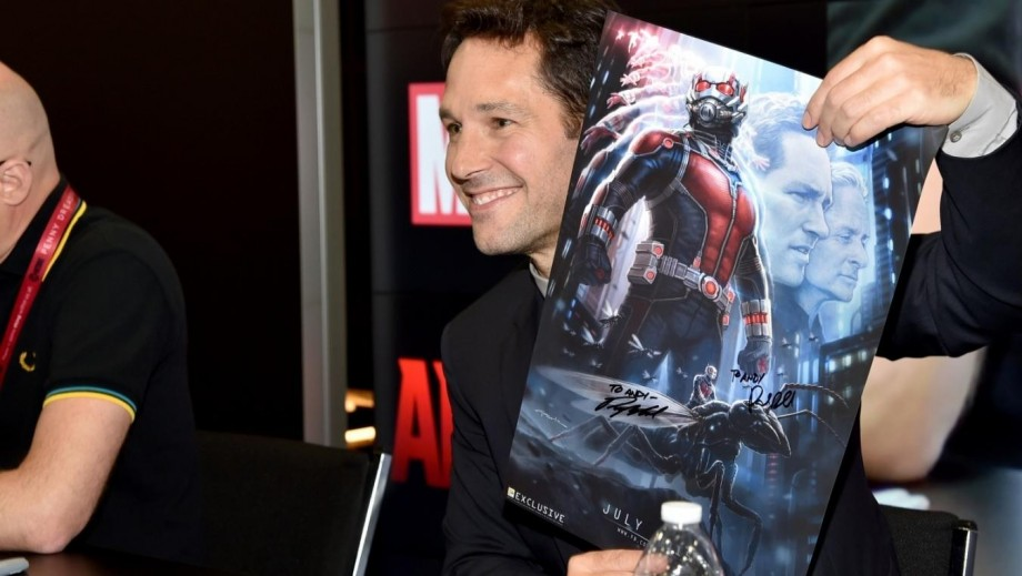 Paul Rudd discusses his awesome Ant-Man costume