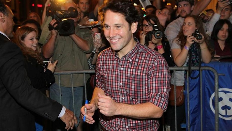 Paul Rudd excited by new Ant-Man script