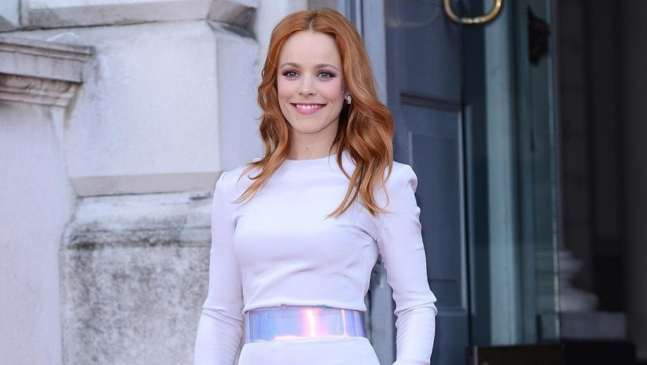 Rachel McAdams shows 'edgy' side of personality in leather biker jacket