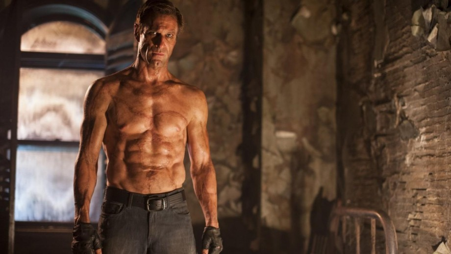 """Will Aaron Eckhart keep the 'muscular' body for role in Incarnate""""?"""