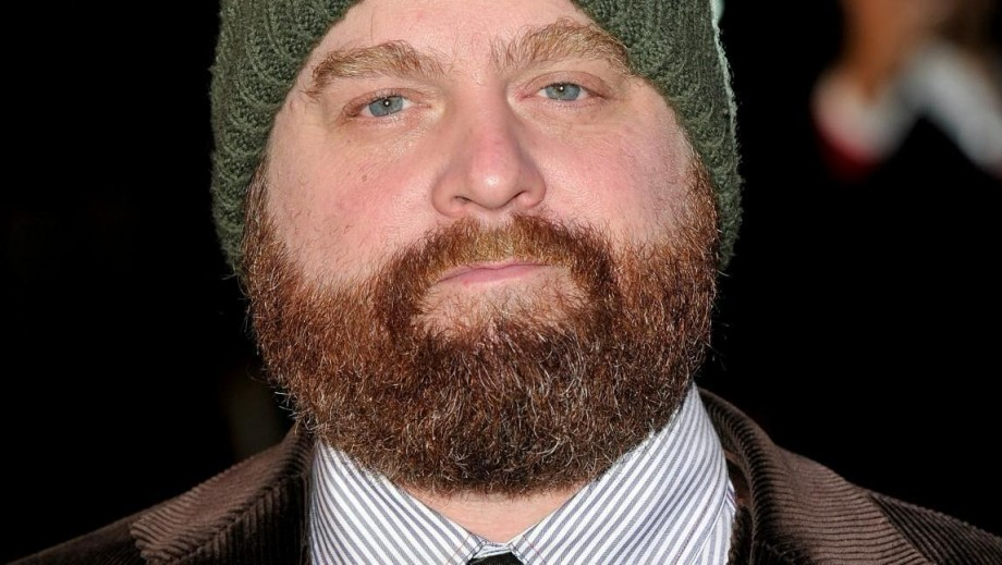 Zach Galifianakis prepares to Greet Samuel L. Jackson and Tobey Maguire