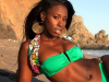 'SMOOTH' model Bria Myles displays new look, movies on horizon?