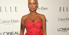Amber Rose advertises single status with 'Oyster' interview & photos