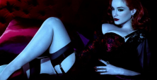 Christina Hendricks shines in sensual 'Sheba' advertisement