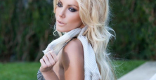 Crystal Harris 'Eat Me' swimsuit pictures are a reason to envy Hugh Hefner