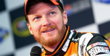 Dale Earnhardt Jr. doesn't fear speed but Jimmy Kimmel scares gun