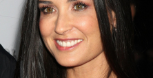 Demi Moore excites fans with bikini body at Father's Day pool party