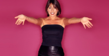English host Davina McCall is more than ready to premiere her new television project