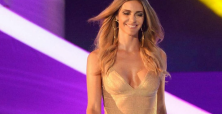 Fernanda Lima still dominating discussion after THAT golden dress at the FIFA World Cup draw