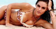 Hilary Rhoda brings attention to 'cupping' with Instagram picture