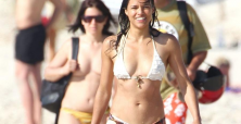 Is Michelle Rodriguez the female 'Charlie Harper' from Two and a Half Men?