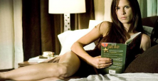 Is Rhona Mitra a drama leading lady star 'hiding' in action-adventure roles?