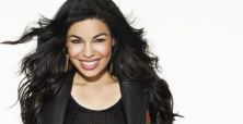 Jordin Sparks sparkles in daring thigh-high split gown on the red carpet