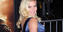 Katee Sackhoff's blue dress pic stokes interest in