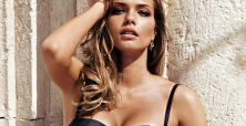 Katsia Zingarevich shines in recent Intimissimi lingerie photos