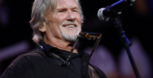 Kris Kristofferson reveals how a Johnny Cash handshake 'saved him'.